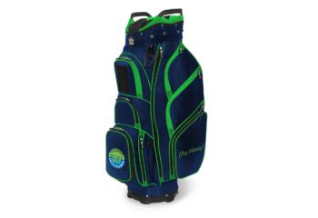 JCR TL650 Cart bag-navy lime-Nancy Lopez